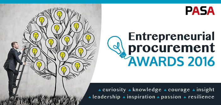 Announcing the PASA Entrepreneurial Procurement Awards