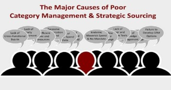 The Major Causes of Poor Category Management & Strategic Sourcing