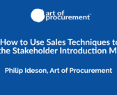 PODCAST: How to Use Sales Techniques to Ace the Stakeholder Introduction Meeting